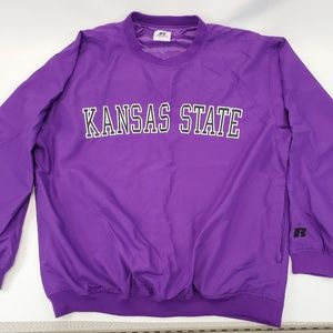 K-State Men's Pullover with zipper pockets